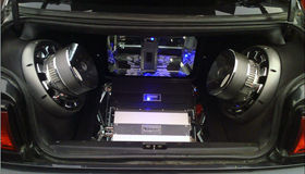 custom car audio systems, premium sound system, amplifier, auto audio system, car electronics, mobile audio, rear deck audio speakers, car audio electronics